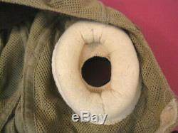 WWII British Royal Air Force RAF Fighter Pilot E-Type Cloth Flying Helmet RARE 1