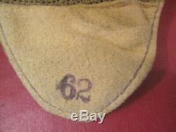 WWII British Royal Air Force RAF Fighter Pilot E-Type Cloth Flying Helmet RARE 2