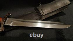 Ww2 Wwii India Chindit Bowie Knife. Extremely Rare! 99% Perfect