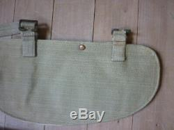 Ww2 british army entrenching tool 42 brades/aussie cover/ 1945 / rare metal end