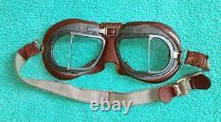 Ww2 raf mk8 flying goggles, rare early pattern