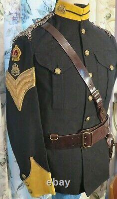 YEOMANRY UNIFORM Suffolk Yeomanry No1 Dress CAVALRY 1905 RARE Decorative